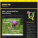 Folien der Scottish QGISuser group verfügbar