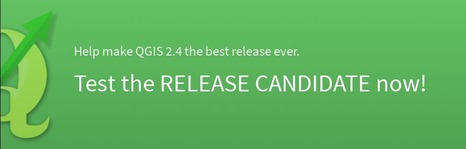 QGIS 2.4 en phase de test
