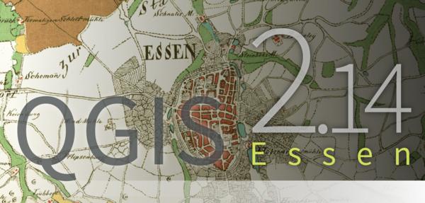 Sortie de QGIS 2.14 LTR «Essen»